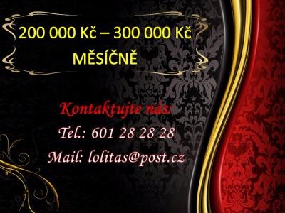 200 000 Kč měsíčně,zaručeně!