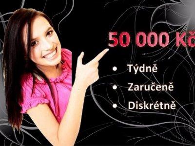 50 000 Kč týdně,zaručeně a diskrétně !